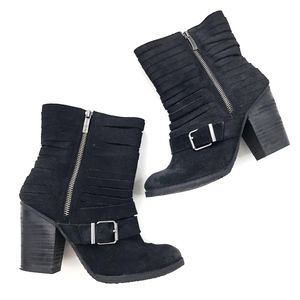 Naughty Monkey | Genuine Leather Mid-calf Bootie